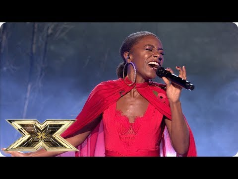 Shan Ako sings The Sound of Silence   Live Shows Week 3   The X Factor UK 2018