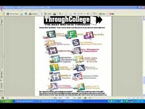What's My Calling Career Exploration Activity ThroughCollege