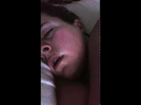 Funny sleep talking girlfriend