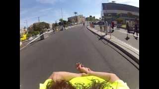 2ª Marathon Roller Valencia 2012, segunda parte de Bajona, maraton, patinada popular