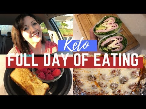 Full Day Of Eating On Keto | Weekend Gain!?! | Journey To Healthy