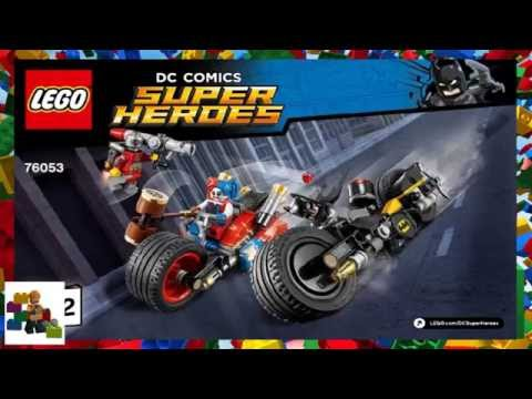 LEGO instructions - Super Heroes - 76053 - Gotham City Cycle Chase (Book 2)