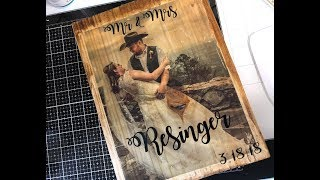 How To Transfer A Picture To Wood