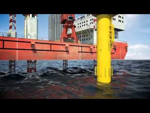 Trelleborg  - Grout Seals for offshore wind farm installations