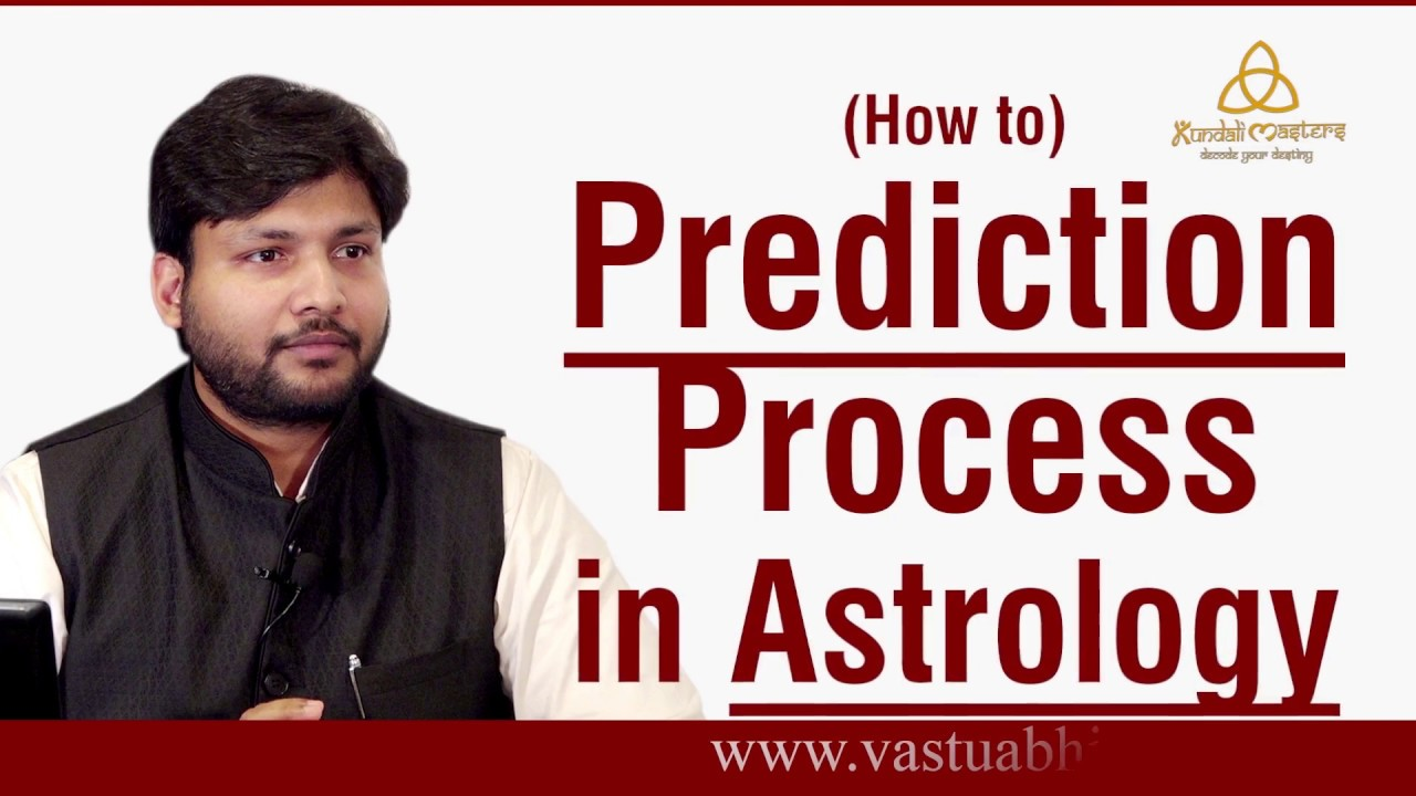 Prediction Process in Astrology | How to do Prediction in Astrology step by step