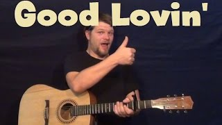 Good Lovin The Rascals Easy Guitar Lesson How to Play Tutorial
