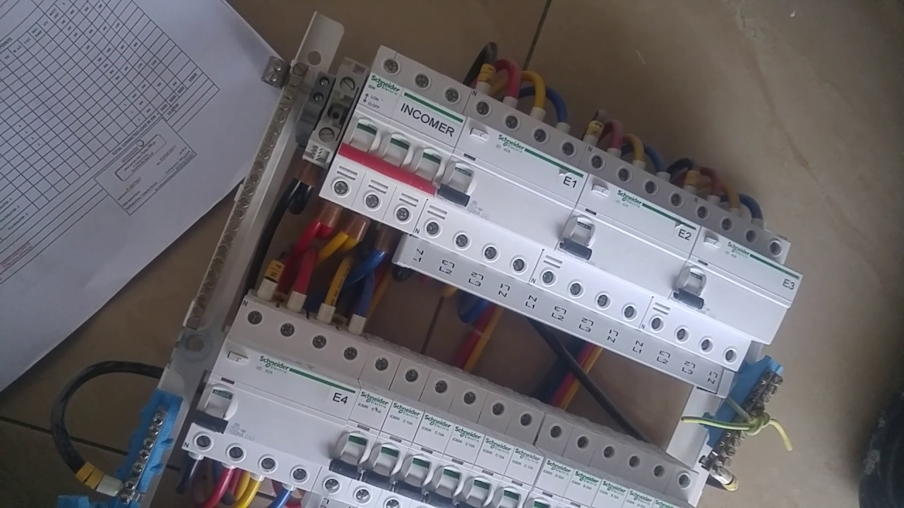 electrical db work in dubai youtube rh youtube com Home Depot Electrical Supplies Electrical Wiring Supplies with Name