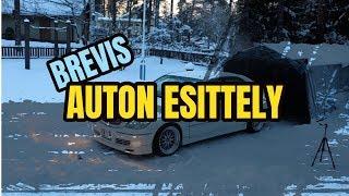 AUTON ESITTELY - TOYOTA BREVIS JCG10