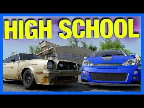 Forza Horizon 3 Online : THE BEST HIGH SCHOOL CAR!!