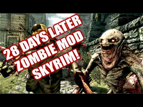 Zombie Mod Skyrim Remastered Xbox One Console Mod | 28 Days and a Bit 5