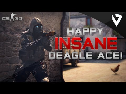 CS:GO - Happy INSANE DEAGLE ACE!