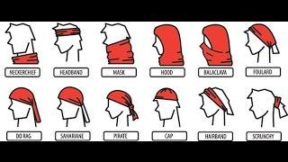 10 WAYS TO WEAR MULTIFUNCTIONAL HEADWEAR