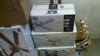 NIB CEILING FANS FOR SALE, Lakewood box fan for sale