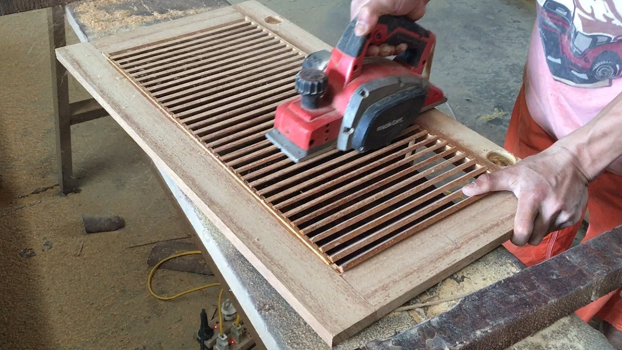 Amazing Woodworking Technical Extremely High How To Make A Shutter