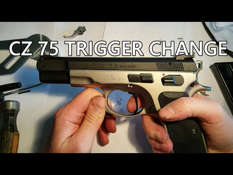 How to change the trigger on a CZ 75B (or SP01)