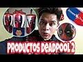 Productos de Deadpool 2 Cinemex y cinepolis / Camaras al aire