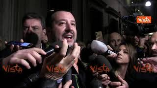 Anticorruzione, Salvini: ''Governo sotto incidente di percorso, ddl verrà approvato''