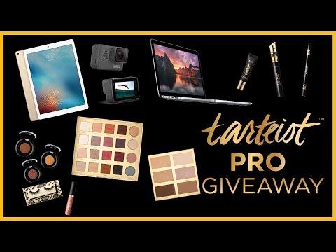 tarte cosmetics tarteist PRO Giveaway