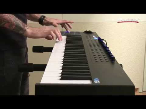 Alesis VI61 USB/MIDI Keyboard Controller Demo by Sweetwater