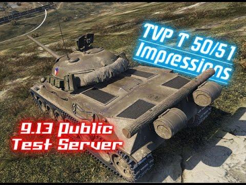 9 13 T S  – TVP T 50/51 Impressions || World of Tanks by Sahm Lockhart