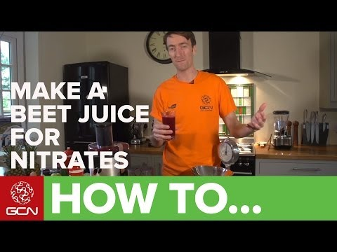 How To Make A High-Nitrate Beet And Carrot Juice - GCN's Food For Cycling