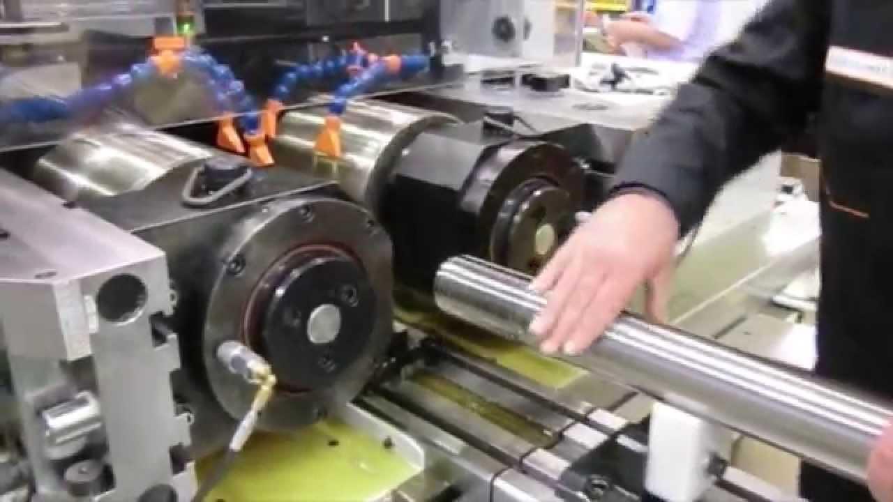 120Ton Fully Electric Thread Rolling Machine - escofier FLEX XL120 Green  line