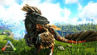 恐ろしいかぎ爪を持つ恐竜『ディノニクス』を仲間にする! - ARK Survival Evolved ゆっくり実況 【Valguero・バルゲロ】