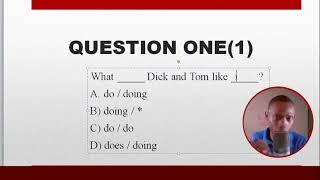 Vinn Teste e rezoud pwoblem Gramè Anglew (Live 6)