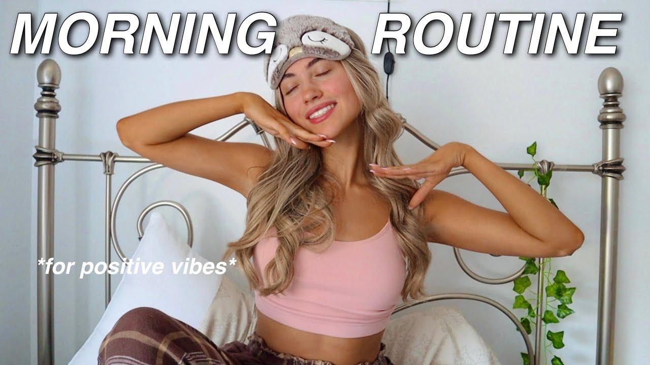 *productive* summer morning routine (ft. skincare, meditation & more)   Samantha Nicole