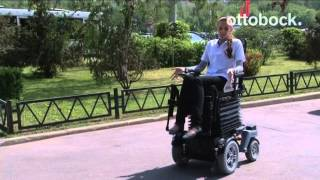 видео Электрическая инвалидная кресло-коляска (скутер) Vermeiren Ceres 4