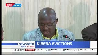 NGOs seeking justice for Kibera residents who were evicted by KURA