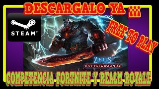 DOWNLOAD ZEUS BATTLEGROUNDS 👉 GRATUIT À PLAY IN STEAM 👈 FORTNITE ET REALM ROYALE COMPETITION