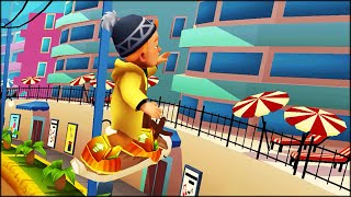 Monday run with Bjarki - Subway Surfers: Miami