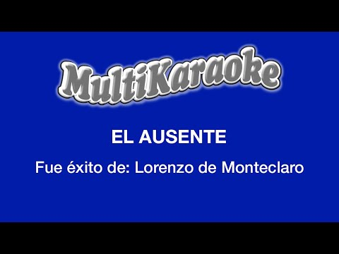 Multi Karaoke - El Ausente