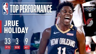 Jrue Holiday Leads The Way For New Orleans