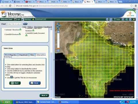 Bhuvan Data Download