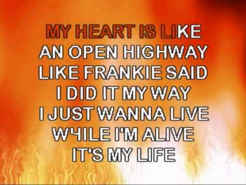BON JOVI-ITS MY LIFE-Karaoke