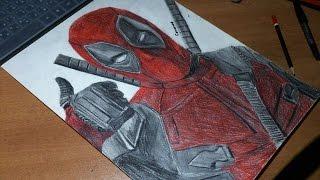 Deadpool Speed Drawing|Alexandr Sitnikov