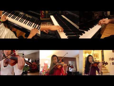 Carol of the Bells - Trans Siberian Orchestra (Piano and Violin)