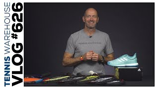 New Tennis Products: adidas Parley + new Dunlop Racquets -- VLOG #626