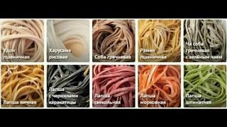 Пшеничная Лапша Удон и ещё 2 вида Лапши(Лучший рецепт теста)