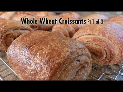 Whole Wheat Croissants Pt 1 of 3