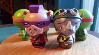 TMNT Dorbz Collection Teenage Mutant Ninja Turtles Funko Figures Review