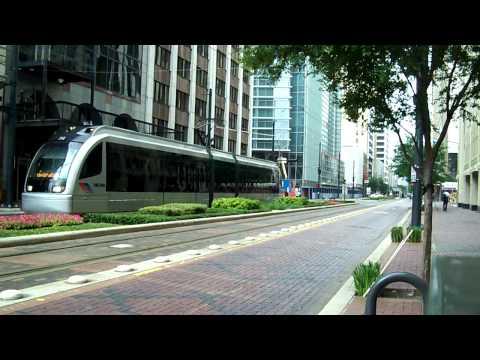 Houston Metro Rail HD (trams In Houston)