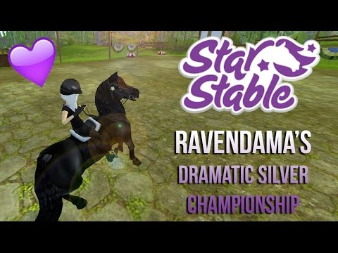 Ravendama's dramatic Silverglade Champ || Star Stable Online