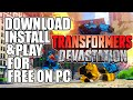 Transformers: Devastation PC - Download, Install and Play for Free