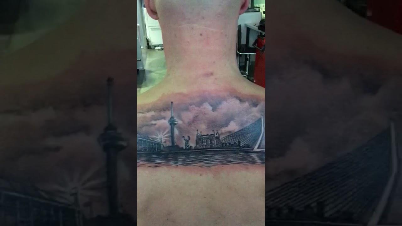 Dutch Ink Skyline Rotterdam Tattoo Youtube