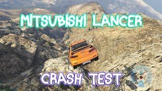 GTA V - Mitsubishi Lancer Evolution X - Crash Test