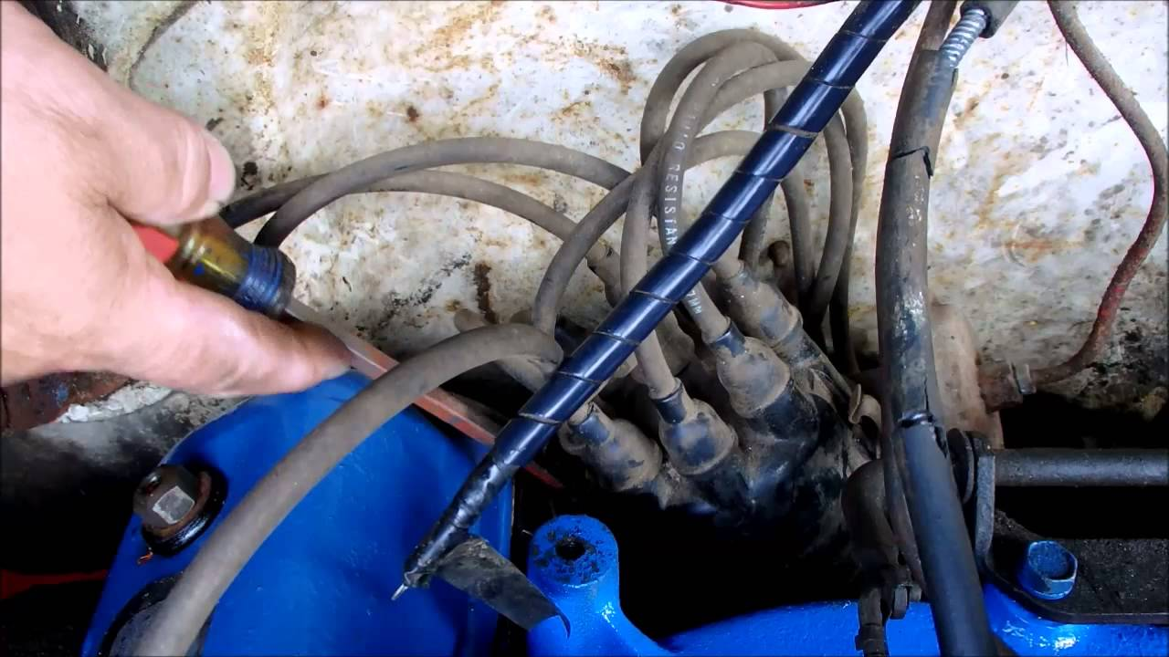 distributor cap ignition wire 55 ford y block youtube rh youtube com 292 Y-Block Parts Ford 292 Y-Block History