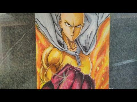 Drawing - Saitama From One Punch Man || 2019 (Season 2)